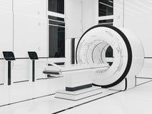 Render Magnetic resonance imaging. 3D illustration.Render Magnetic resonance imaging. Technology medicine. mri Stock Photography