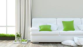Render Modern Interior Stock Photography