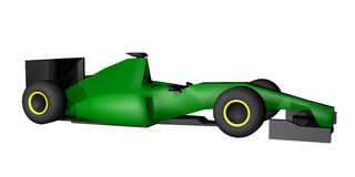 Render racing car Royalty Free Stock Image