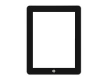 Black Tablet Computer Royalty Free Stock Photo