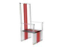 Tall Acrylic chair Stock Photos