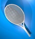 Render tennis racket Stock Images