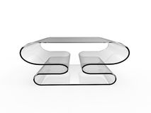 Table With Shelf Stock Photo