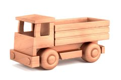render of wooden toy Royalty Free Stock Photo