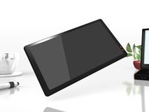 Rendered image of a simple smart phone Stock Images