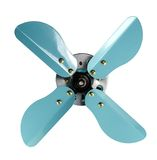 Rendered propeller front view Royalty Free Stock Photos