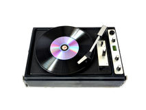 Rendered vinyl player Stock Image