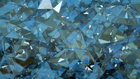 Renderi en verre multicouche triangulé de l'abrégé sur 3D construction illustration de vecteur