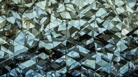 Renderi en verre multicouche triangulé de l'abrégé sur 3D construction illustration stock