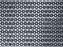 Rendering silver metallic grid background. 3d illustration silver metallic texture grid background stock illustration