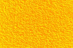 Rendering structure wall background. Rendering-structure of an external wall, orange yellow colored royalty free stock image