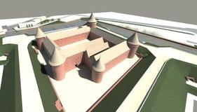 Rendez : citadelle Image libre de droits