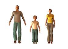 Rendez le famille illustration libre de droits