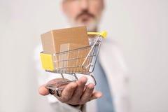 Rendez vos achats en ligne Photos libres de droits