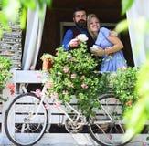 Rendez-vous et concept de pause-café Couples dans l'amour Photographie stock