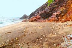 Rendez-vous Plażowy Antigua Zdjęcie Royalty Free