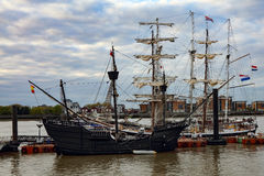 Rendez-Vous Tall Ships Regatta 2017 Greenwich river Thames Royalty Free Stock Photos