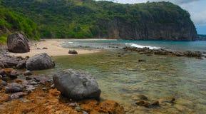 Rendezvous Beach, Montserrat. Rendezvous Beach on Montserrat, West Indies, Caribbean Stock Image