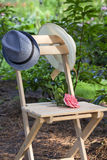 Rendezvous in the garden Stock Image