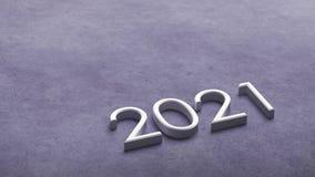 rendição 2021 3d imagem de stock