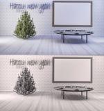 rendição 3d Ano novo feliz Imagens de Stock Royalty Free