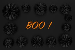 rendição 3d de abóboras de Dia das Bruxas Fotos de Stock