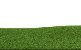 rendição 3d de um campo verde Imagens de Stock Royalty Free