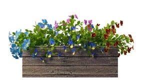 rendição 3d de um potenciômetro de flor realístico isolado no branco Fotos de Stock