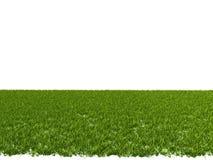 rendição 3d de um remendo da grama para o uso arquitetónico ilustração stock