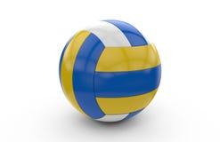 rendição 3D de uma bola da salva Fotografia de Stock