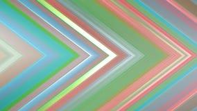 rendição 3d de uma composição angular abstrata que consiste nos painéis e nas linhas Fotografia de Stock Royalty Free