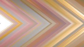 rendição 3d de uma composição angular abstrata que consiste nos painéis e nas linhas Fotografia de Stock