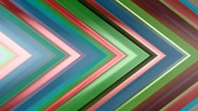 rendição 3d de uma composição angular abstrata que consiste nos painéis e nas linhas Foto de Stock