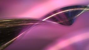 rendição 3D de uma faixa de torção altivo do redemoinho Imagens de Stock Royalty Free