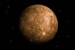 rendição 3d do planeta de Mercury