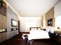 rendição 3d do quarto interior Imagem de Stock Royalty Free