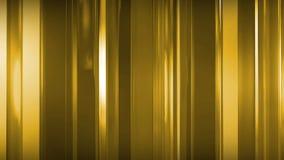 rendição 3D dos painéis de vidro finos abstratos no espaço Os painéis brilho e refletem-se Fotos de Stock