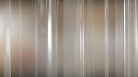 rendição 3D dos painéis de vidro finos abstratos no espaço Os painéis brilho e refletem-se Imagem de Stock Royalty Free