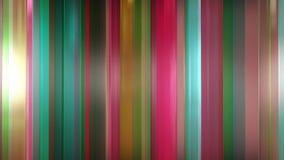 rendição 3D dos painéis de vidro finos abstratos no espaço Os painéis brilho e refletem-se Foto de Stock