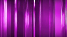 rendição 3D dos painéis de vidro finos abstratos no espaço Os painéis brilho e refletem-se Imagens de Stock Royalty Free
