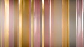 rendição 3D dos painéis de vidro finos abstratos no espaço Os painéis brilho e refletem-se Imagens de Stock