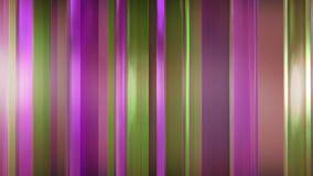 rendição 3D dos painéis de vidro finos abstratos no espaço Os painéis brilho e refletem-se Fotos de Stock Royalty Free
