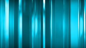 rendição 3D dos painéis de vidro finos abstratos no espaço Os painéis brilho e refletem-se Foto de Stock Royalty Free