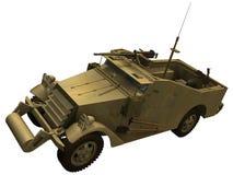rendição 3d M3 de um escuteiro Car Fotografia de Stock Royalty Free