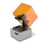 Rendição da impressora 3d da estereolitografia Foto de Stock Royalty Free
