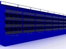 Rendição da mostra 3D Fotos de Stock