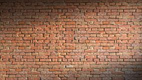 Rendição da parede de tijolo 3d Fotos de Stock