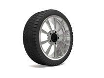 Rendição da roda de carro 3d Imagem de Stock Royalty Free