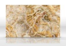 Rendição de mármore da textura 3D da telha do ônix foto de stock royalty free