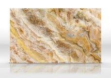 Rendição de mármore da textura 3D da telha do ônix fotografia de stock royalty free